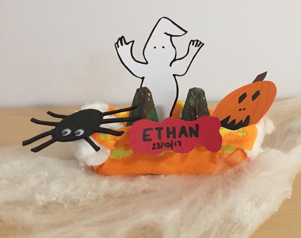 C'est Halloween à la crèche