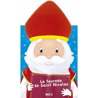 Saint-Nicolas vient à la crèche